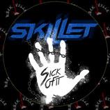 Наклейка Skillet 4