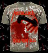 Футболка Metallica 19 тотальная