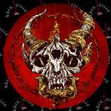 Наклейка Skull 4