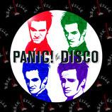 Значок Panic! At The Disco 12