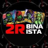 Наклейка 2Rbina 2Rista 1