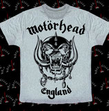 Футболка Motorhead 4 серая