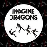Значок Imagine Dragons 2