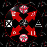 Значок 30 Seconds To Mars 8