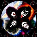 Наклейка KISS 2