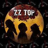 Значок ZZ Top 2