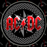 Наклейка AC/DC 2
