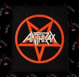 Нашивка катаная Anthrax