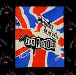 Нашивка катаная Sex Pistols