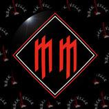 Значок Marilyn Manson 12