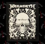 Нашивка катаная Megadeth