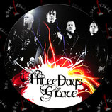 Значок большой Three Days Grace 1