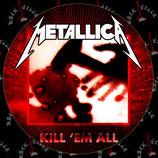 Наклейка Metallica 6