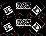 Шарф Imagine Dragons