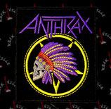 Нашивка Anthrax