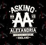 Нашивка катаная Asking Alexandria