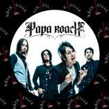 Значок Papa Roach 1