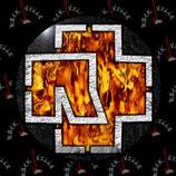 Значок Rammstein 12