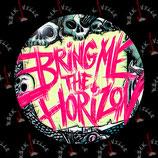 Значок Bring Me The Horizon 8