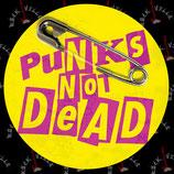 Наклейка Punks Not Dead