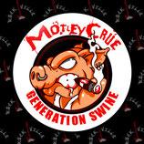 Значок Motley Crue 3