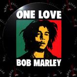 Значок большой Bob Marley