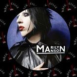 Значок Marilyn Manson 4
