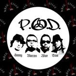 Значок P.O.D.
