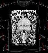 Футболка Megadeth 4