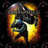 Значок большой Disturbed 1