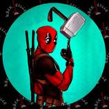 Наклейка Deadpool