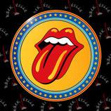 Значок Rolling Stones 4