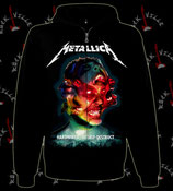 Толстовка на молнии Metallica