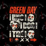 Нашивка катаная Green Day 1
