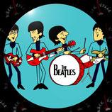 Значок большой The Beatles 1