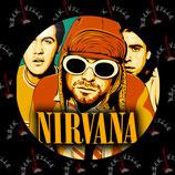 Значок Nirvana 6