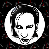 Значок Marilyn Manson 14
