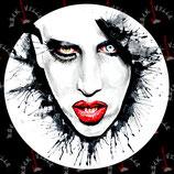 Наклейка Marilyn Manson 5