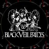 Наклейка Black Veil Brides 1