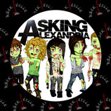 Значок Asking Alexandria 10