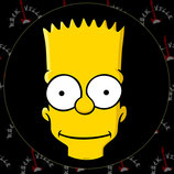 Наклейка Simpsons 3