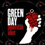 Наклейка Green Day 1