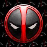 Значок Deadpool 1