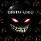 Значок Disturbed 4