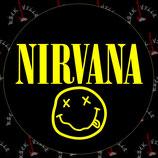 Наклейка Nirvana 4