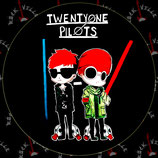 Наклейка Twenty One Pilots 2