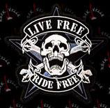 Нашивка Live Free