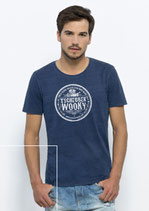 T Shirt Still Wooky blue/m