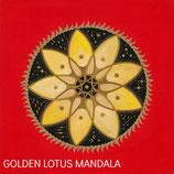 Goldenes Lotus Mandala