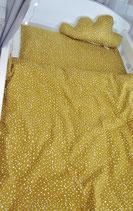 Bettwäsche Dots gelb